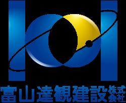 富山達観建設株式会社ロゴ